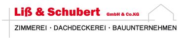 Logo Liß & Schubert Bauunternehmen Zimmerei